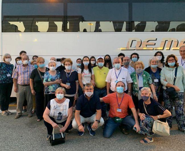 Il gruppo ADVM proveniente da Piemonte e Lombardia